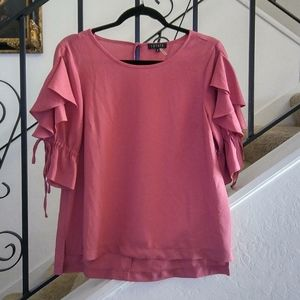 1. STATE Bell Sleeve Hi-Low Blouse Size S